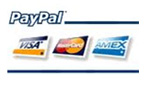 Pago 100% seguro con Pay Pal